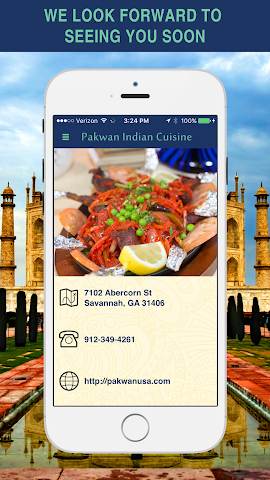 android Pakwan Indian Cuisine Screenshot 4