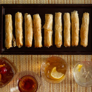 Feta Walnut Date Cigars