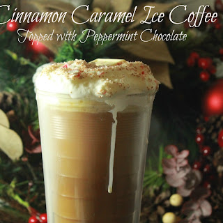 Cinnamon Caramel Ice Coffee