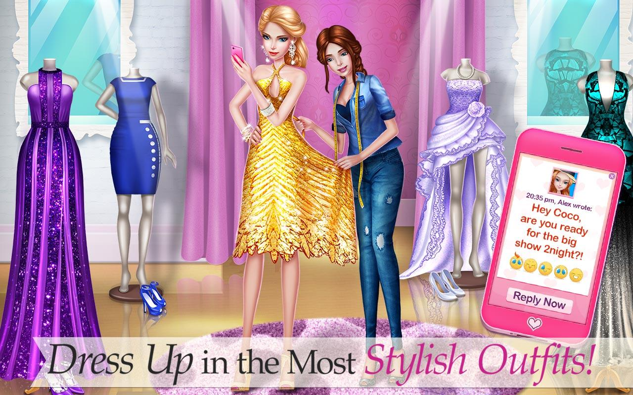 Supermodel Star Fashion Game Android Apps On Google Play
