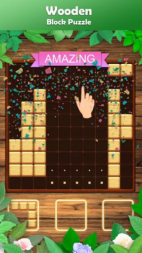 Wooden Block Puzzle - A Classic Tetris Brick Game 2.8.0 screenshots 2