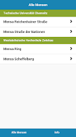 Screenshot of Mensa Chemnitz