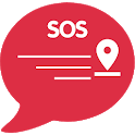 Emergency SOS  Safety Alert Message icon