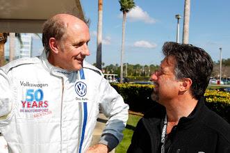 Photo: Hans-Joachim Stuck, Michael AndrettiVolkswagen 50 years in Motorsport, Formula Vee, Daytona International Speedway, Courtesy of Volkswagen of North America
