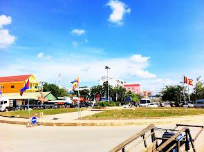 Photo: Poipet, Cambodia.  Border town.