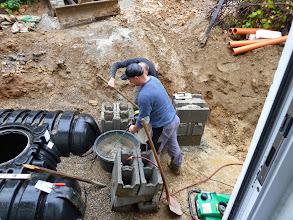 Photo: Weitere Grundlagen fürs Fundament werden gesetzt