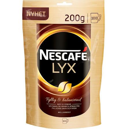 Kaffe Nescafé Lyx refill 200g