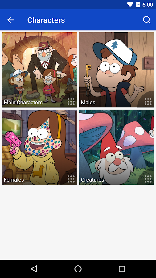 FANDOM for: Gravity Falls- screenshot