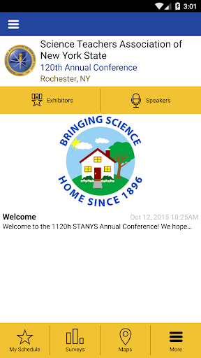 STANYS 2015 Conference App