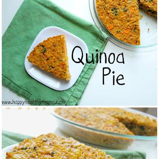 Roasted Vegetable Quinoa Pie