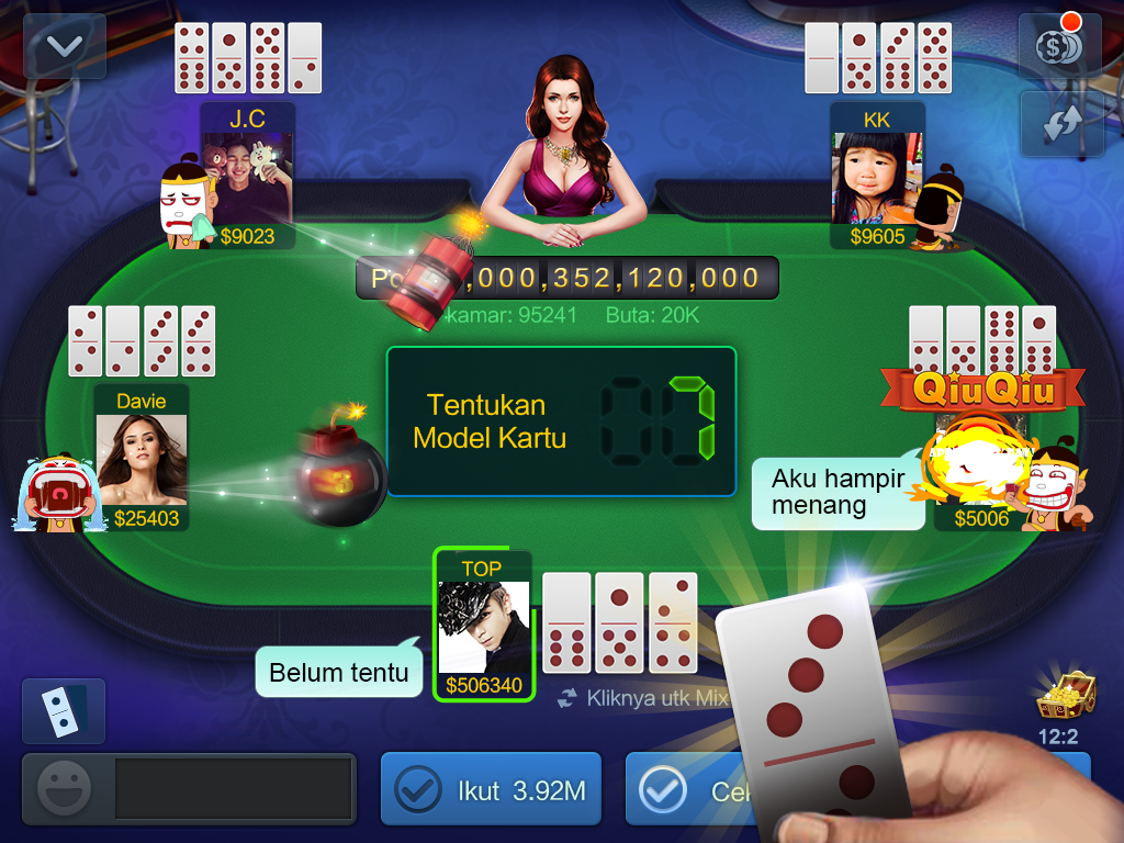 Image result for game domino qiu qiu