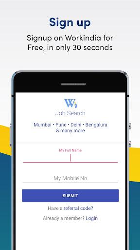 Job Search App - Free Direct HR Contact: WorkIndia 5.2.9.3 screenshots 3