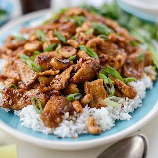 Spicy Ginger Cashew Pork.