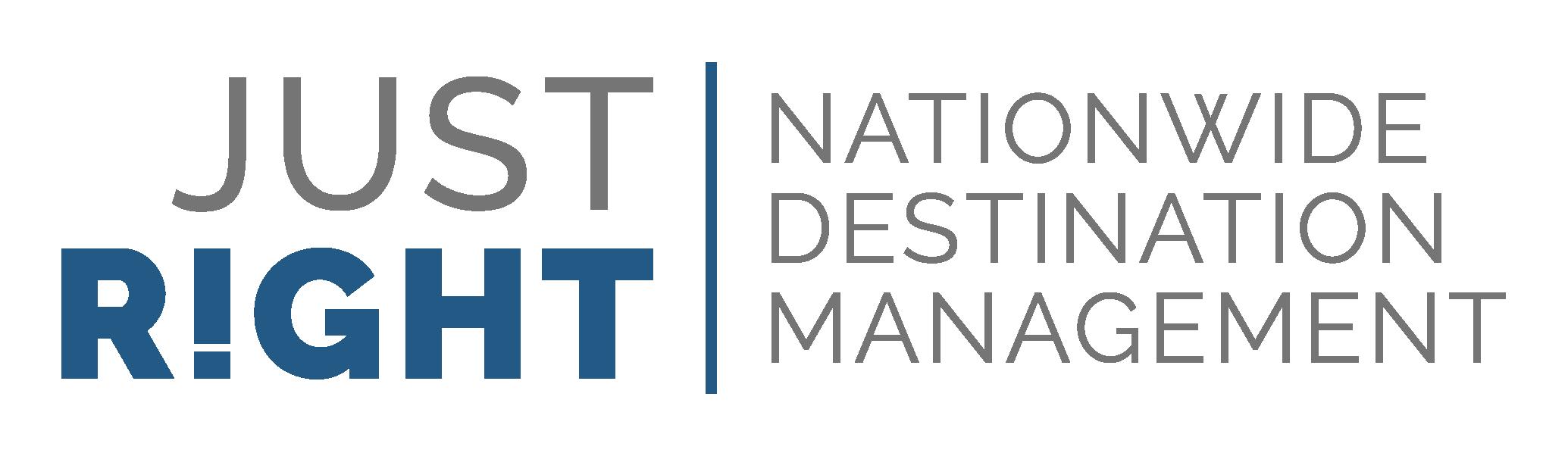 Just Right! Destination Management Logo