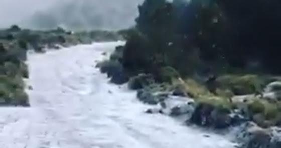 Las espectaculares imágenes que deja la nevada en los pueblos de Almería