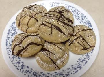 Santa Snicker Surprise Cookies