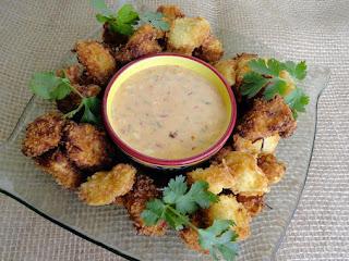 Thai Tortellini Fritters Recipe