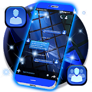 Blue SMS Theme 2019