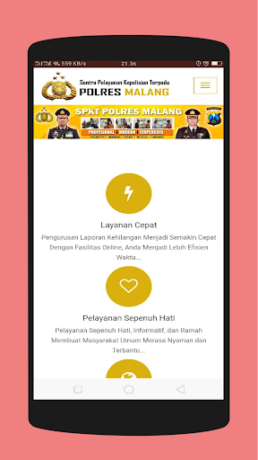 Malang E-Policing 1.2.1 screenshots 5
