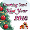 New Year Greeting Cards 2016 icon