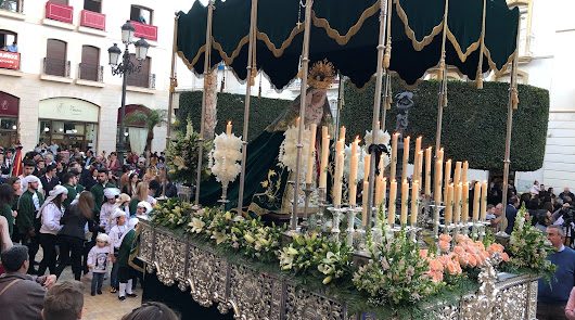 La Hermandad de los Perdones de Vera realizó su procesión virtual