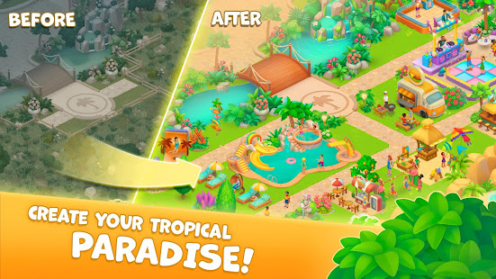 Tropicmania: Pocket Resort 1.0 APK + Mod (Free purchase) for Android