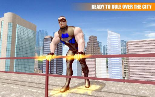 Miami Rope Hero Spider Open World Street Gangster  screenshots 4