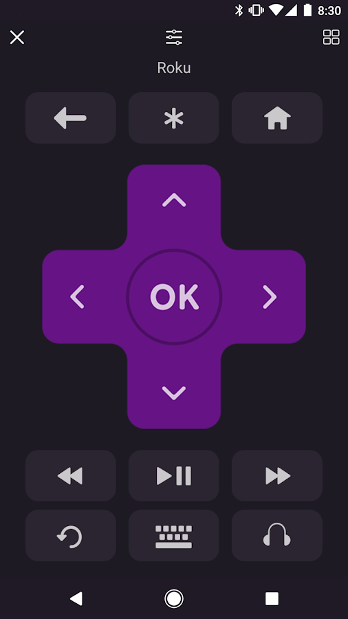 Roku- screenshot