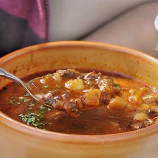 Bohemian Goulash Soup.