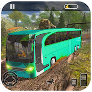 Tourist Bus Hill Driving Games Big Bus Transport