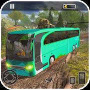 Tourist Bus Hill Driving Games Big Bus Transport