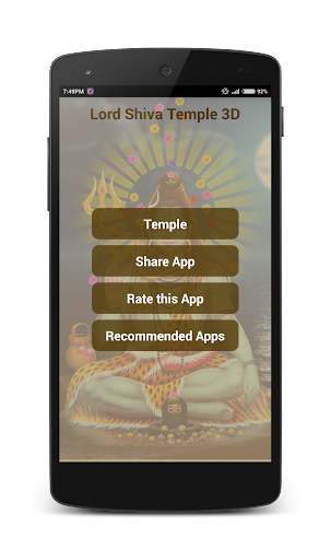 Lord Shiva Temple 3D