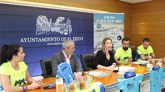 Presentación de la prueba en el Ayuntamiento de El Ejido.