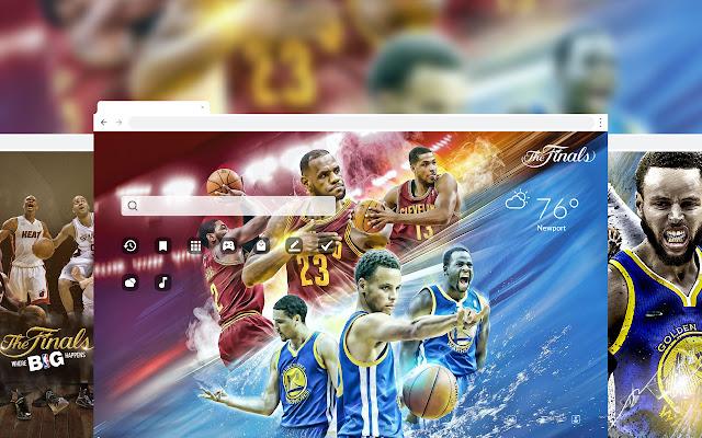 NBA Finals Basketball HD Wallpaper Theme