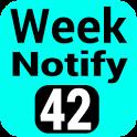 Calender Week Number Notify icon
