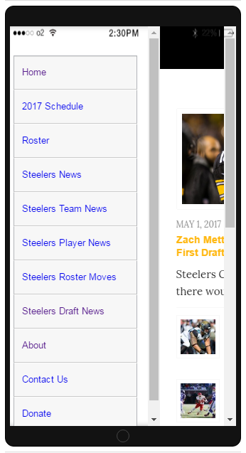 SB Steelers News- screenshot