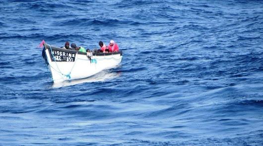 Once muertos en el naufragio de una patera frente a Cabo de Gata