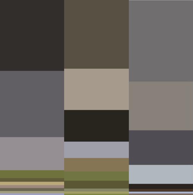 Joseph color breakdown