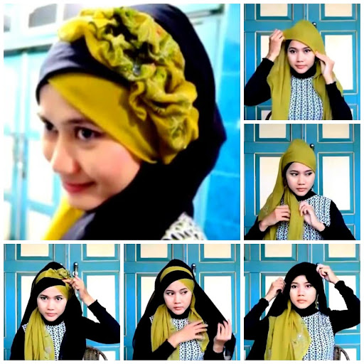 89+ Tutorial Hijab Pesta