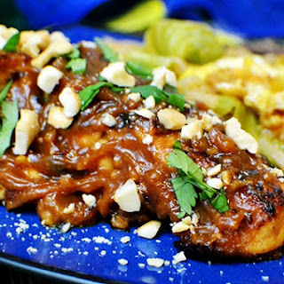 Super Simple Thai Peanut Chicken