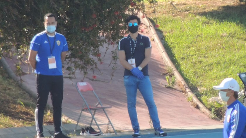 Mario Silva ya está en Almería.