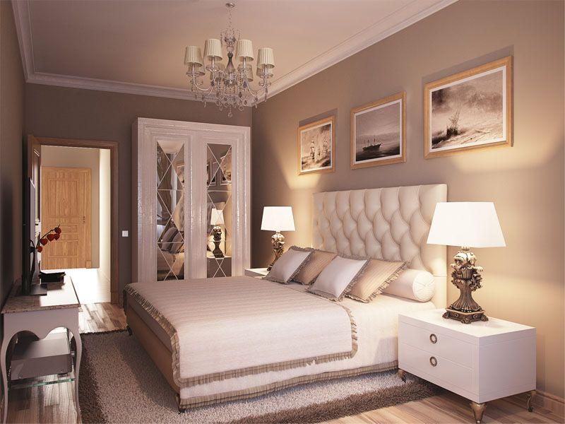 Sypialnia to miejsce na odprężenie - kolory powinny działać uspokajająco.