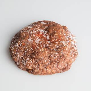 Smoky Hazelnut Chocolate Cookies.