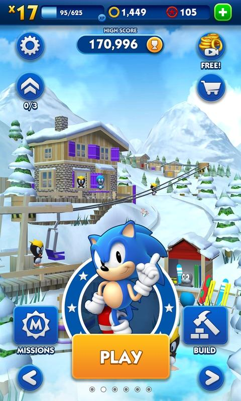 Sonic Dash (MOD, Unlimited Money) 5
