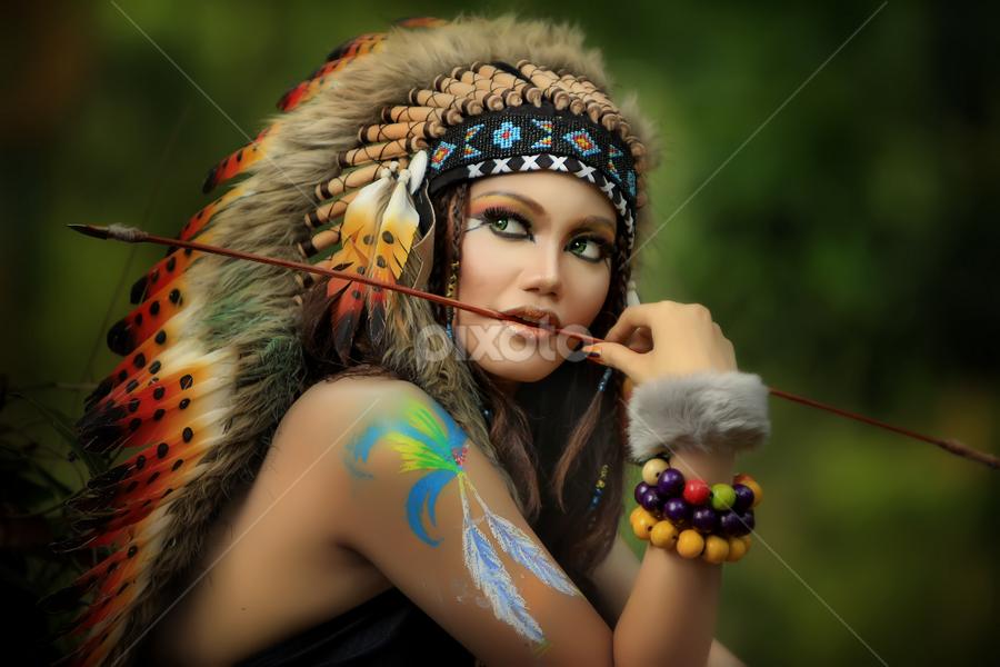 Indian Warior by Agus Stiawan - People Fashion