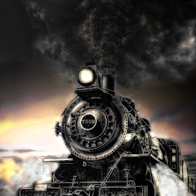 Throttled Up by Nickel Plate Photographics - Transportation Trains
