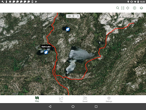 Gaia GPS: Hiking Maps, Topo Maps, Hike App app (apk) free download for Android/PC/Windows screenshot