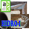 Hydraulic. Flow. Channel. Pipe icon