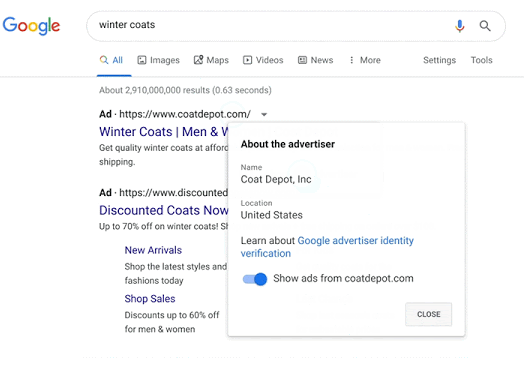 winter coats google search