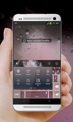 免費下載個人化APP|真夜中前 TouchPal テーマ app開箱文|APP開箱王